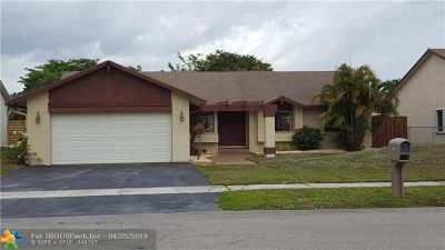 Lauderhill Single Family Home For Sale: 8621 NW 46th Ct