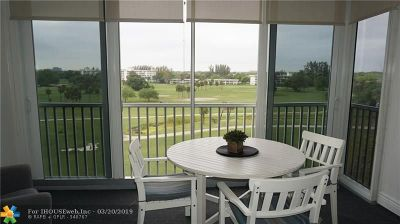 Pompano Beach Condo/Townhouse For Sale: 2950 N Palm Aire Dr #603