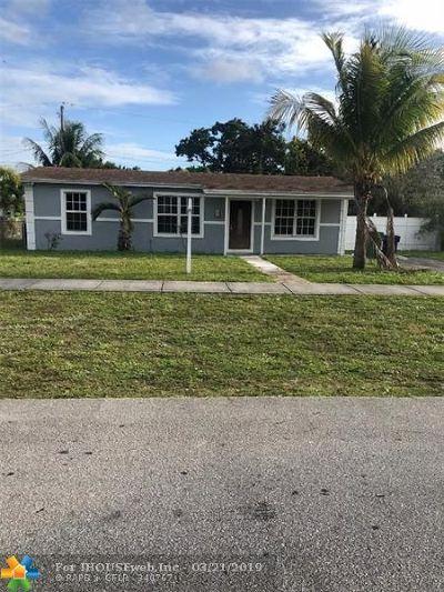 Miami Single Family Home For Sale: 1250 NE 207th St
