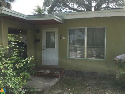 Fort Lauderdale Single Family Home For Sale: 270 Florida Ave