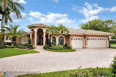 Coral Springs Single Family Home For Sale: 1811 NW 124th Ave