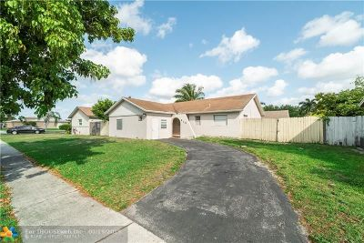 Lauderhill Single Family Home Backup Contract-Call LA: 8131 NW 44th Ct