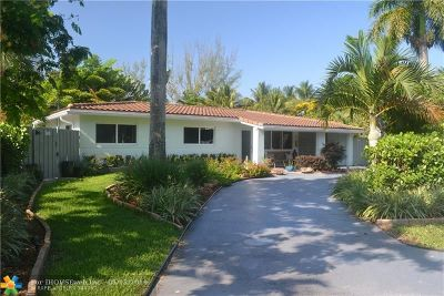 Broward County Single Family Home For Sale: 222 NE 21st St