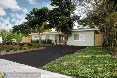 Pompano Beach Single Family Home For Sale: 210 SW 15th St