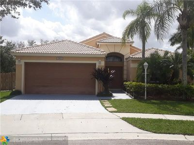 Pembroke Pines Single Family Home For Sale: 1502 NW 133rd Ave