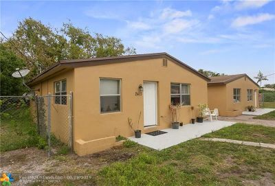 Broward County Multi Family Home For Sale: 2409 NW 21st St