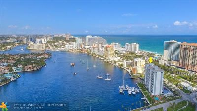 Fort Lauderdale Condo/Townhouse For Sale: 77 S Birch Rd #4C