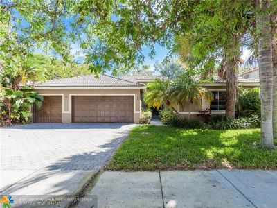 Coconut Creek Single Family Home For Sale: 4934 NW 52nd Ave