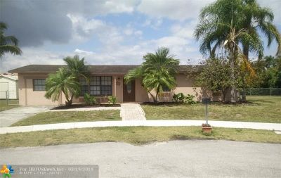 Miami Single Family Home For Sale: 12901 SW 82nd Terrace