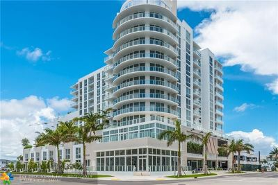 Broward County Condo/Townhouse For Sale: 401 N Birch Road #607