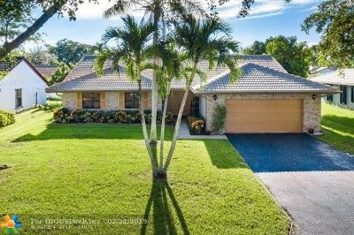 Coral Springs FL Single Family Home For Sale: $399,900
