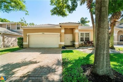 Coconut Creek Single Family Home For Sale: 5766 NW 49th Way