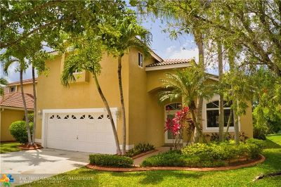 Pembroke Pines Single Family Home For Sale: 124 SW 180th Ave