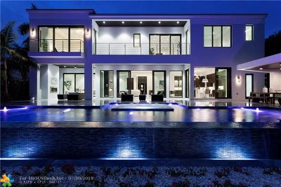Lighthouse Point FL Single Family Home For Sale: $4,495,000