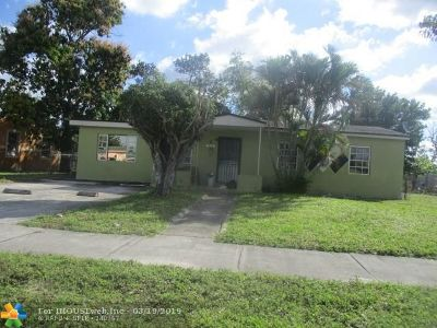 Miami Single Family Home For Sale: 16051 NW 17th Pl