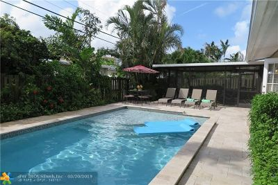 Wilton Manors Single Family Home For Sale: 2801 NE 10th Ave
