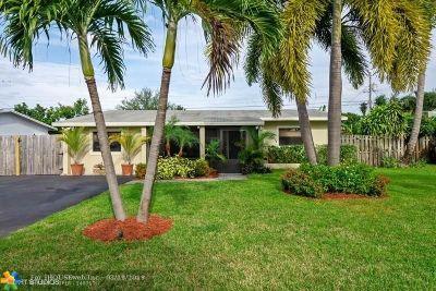 Pompano Beach Single Family Home For Sale: 3100 NE 10th Ave
