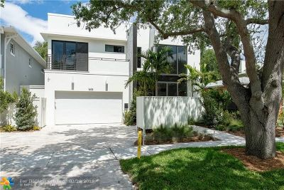 Fort Lauderdale Single Family Home For Sale: 1605 NE 4th Ct