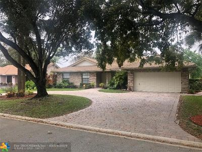 Coral Springs Single Family Home For Sale: 1478 NW 97th Ter