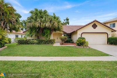 Boca Raton Single Family Home For Sale: 20105 Back Nine Dr