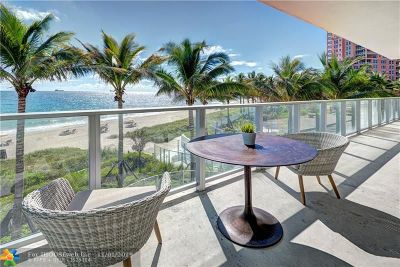 Fort Lauderdale Condo/Townhouse For Sale: 2200 N Ocean Blvd #N204