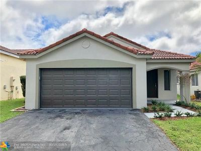 Weston Single Family Home For Sale: 871 San Remo Drive