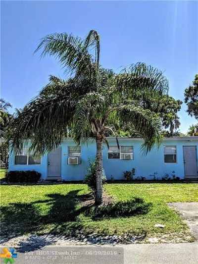 Fort Lauderdale FL Multi Family Home For Sale: $315,000