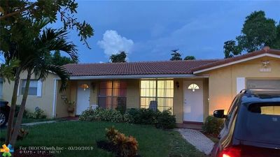 Coral Springs FL Multi Family Home For Sale: $378,000