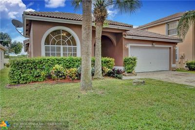 Coral Springs Single Family Home For Sale: 8552 NW 46th Dr