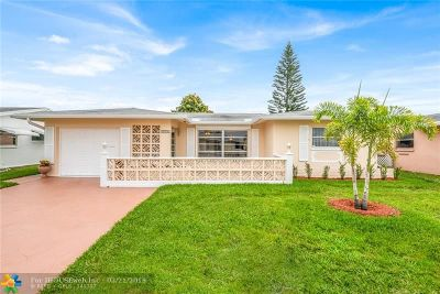Tamarac Single Family Home For Sale: 5716 NW 68th Ter