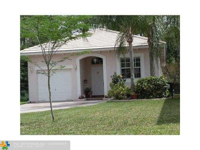 Coconut Creek Rental For Rent: 4804 NW 19th St