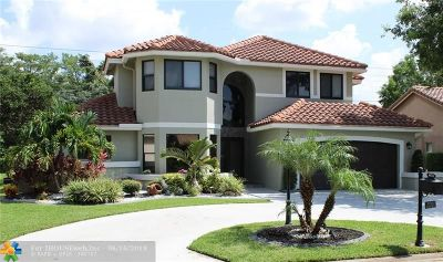 Coral Springs Single Family Home For Sale: 4634 Rothschild Dr