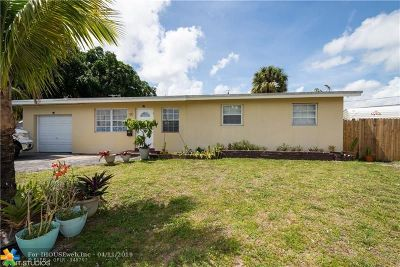 Fort Lauderdale Single Family Home For Sale: 3649 SW 16th St
