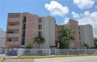 Miami Beach Condo/Townhouse For Sale: 2000 Biarritz Dr #502
