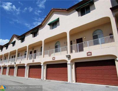 Pompano Beach Condo/Townhouse For Sale: 2461 NE 14th St