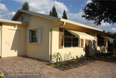 Tamarac Single Family Home For Sale: 7000 NW 94th Ave