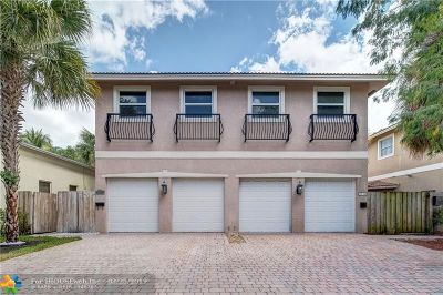Fort Lauderdale FL Condo/Townhouse For Sale: $379,000