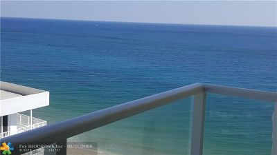 Pompano Beach Condo/Townhouse For Sale: 1000 S Ocean Blvd #18-O