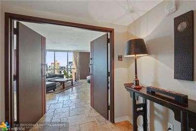 Fort Lauderdale Condo/Townhouse For Sale: 101 S Fort Lauderdale Beach Blvd #1406