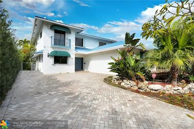 Pompano Beach Single Family Home For Sale: 319 S Riverside Drive