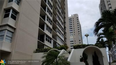Hallandale Condo/Townhouse For Sale: 1904 S Ocean Dr #1602