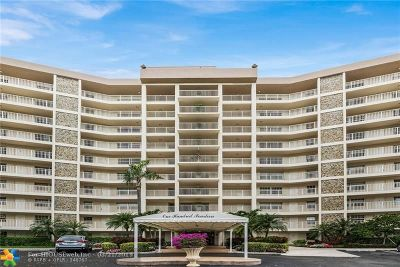 Pompano Beach Condo/Townhouse For Sale: 3507 Oaks Way #201