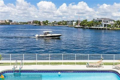 Pompano Beach Condo/Townhouse For Sale: 1105 S Riverside Dr #209