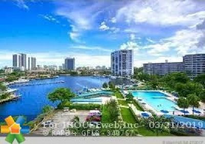 Hallandale Condo/Townhouse For Sale: 2500 Parkview Dr #2304