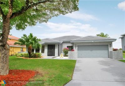 Coral Springs Single Family Home For Sale: 6377 NW 50th St