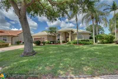 Coral Springs Single Family Home For Sale: 4244 NW 67th Ter