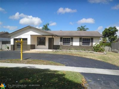 Lauderhill Single Family Home For Sale: 4771 NW 84th Ave