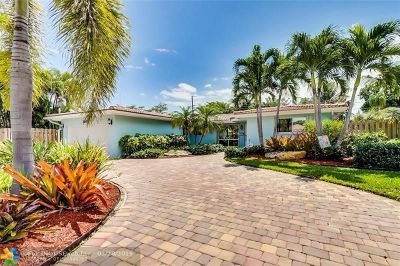 Fort Lauderdale Single Family Home For Sale: 2160 NE 56th Pl