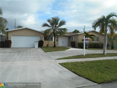 Coconut Creek Single Family Home Backup Contract-Call LA: 4461 NW 8th St