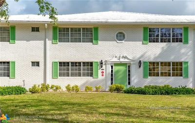 Fort Lauderdale FL Condo/Townhouse For Sale: $64,950